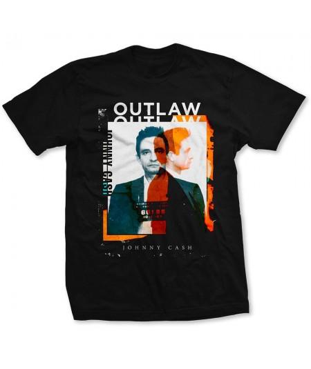 Tricou Unisex Johnny Cash: Outlaw Photo