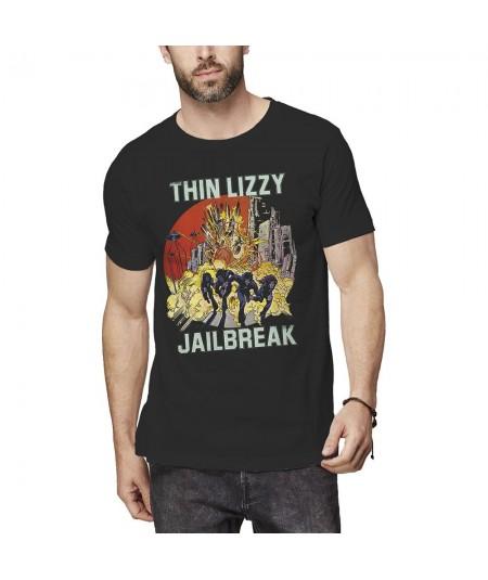 Tricou Unisex Thin Lizzy: Jailbreak Explosion