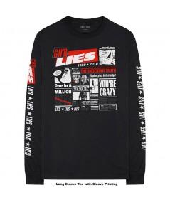 Tricou Maneca Lunga Guns N' Roses: Lies Cover