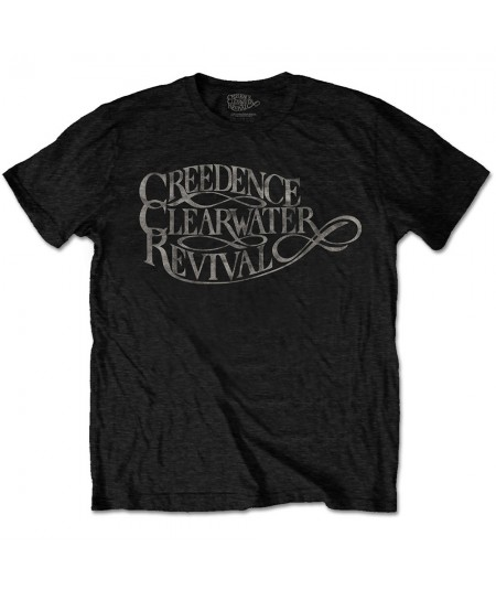 Tricou Unisex Creedence Clearwater Revival: Vintage Logo