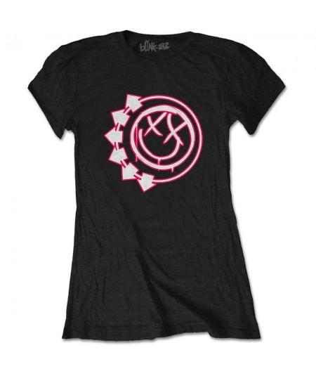 Tricou Dama Blink-182: Six Arrow Smiley
