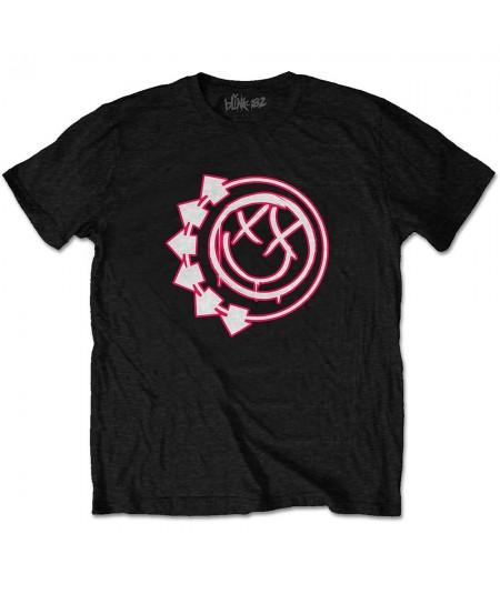 Tricou Unisex Blink-182: Six Arrow Smiley