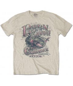 Tricou Unisex Creedence Clearwater Revival: Born on the Bayou