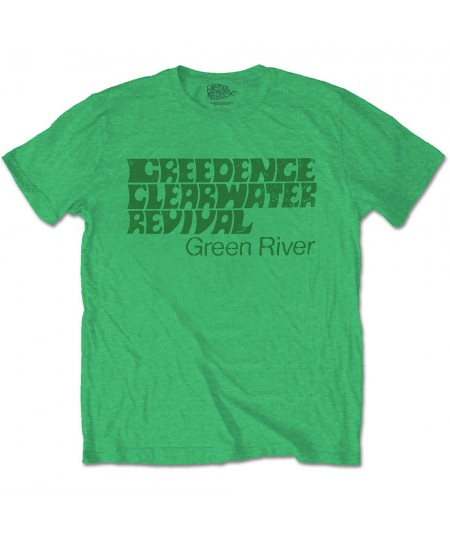 Tricou Unisex Creedence Clearwater Revival: Green River
