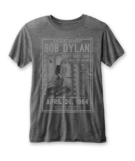 Tricou Burn Out Bob Dylan: Curry Hicks Cage