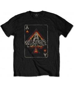 Tricou Unisex Aerosmith: Ace