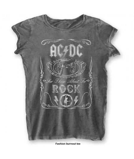 Tricou Burn Out de Dama AC/DC: Cannon Swig