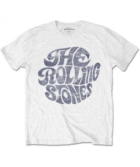 Tricou Unisex The Rolling Stones: Vintage 70s Logo