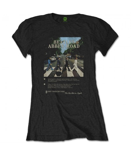 Tricou Dama The Beatles: Abbey Road 8 Track