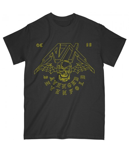 Tricou Unisex Avenged Sevenfold: Webbed Wings