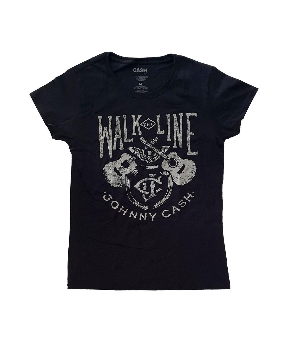 Tricou Dama Johnny Cash: Walk The Line