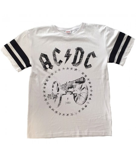 Tricou Unisex AC/DC: For Those About to Rock American Football Style