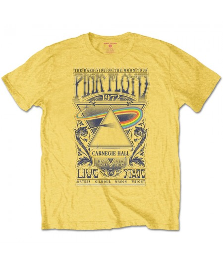 Tricou Unisex Pink Floyd: Carnegie Hall Poster