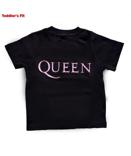 Tricou Copil Queen: Pink Logo