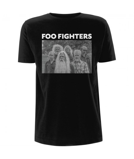 Tricou Unisex Foo Fighters: Old Band Photo