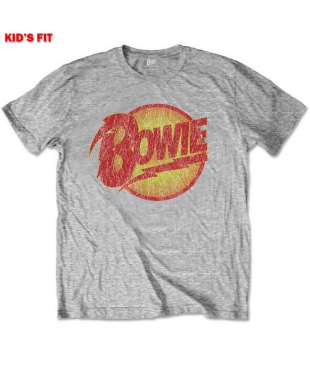 Tricou Copil David Bowie: Vintage Diamond Dogs Logo