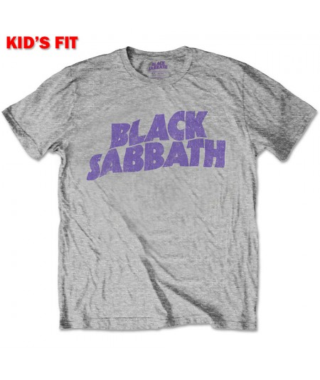 Tricou Copil Black Sabbath: Wavy Logo