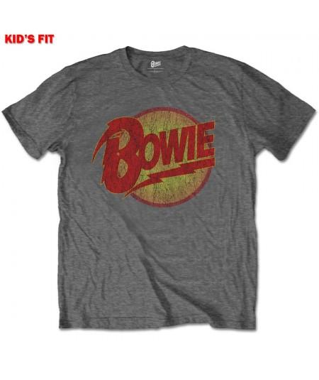 Tricou Copil David Bowie: Diamond Dogs Logo