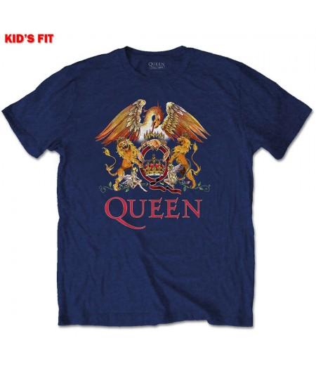 Tricou Copil Queen: Classic Crest
