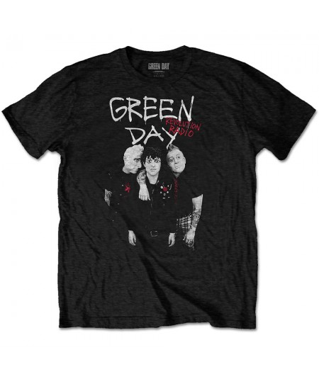 Tricou Unisex Green Day: Red Hot