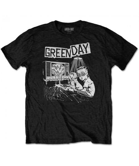 Tricou Unisex Green Day: TV Wasteland