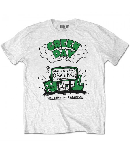 Tricou Unisex Green Day: Welcome to Paradise