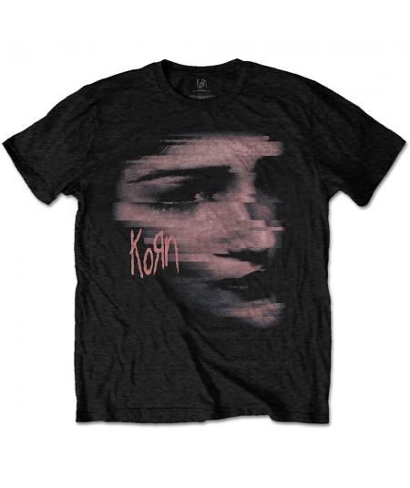 Tricou Unisex Korn: Chopped Face
