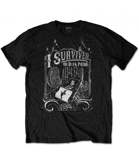 Tricou Unisex My Chemical Romance: I Survived