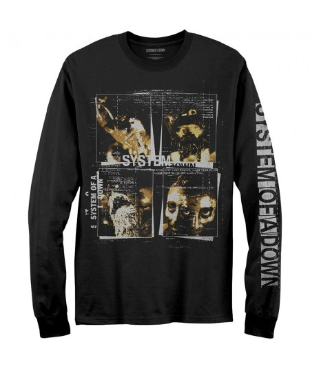 Tricou Maneca Lunga System Of A Down: Face Boxes