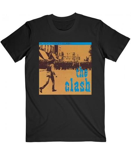 Tricou Unisex The Clash: Black Market
