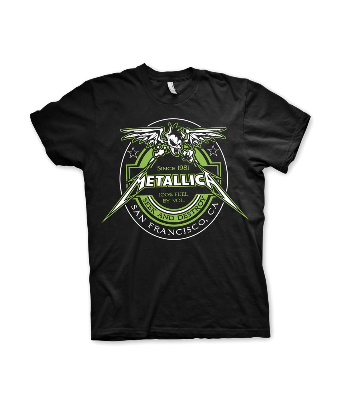 Tricou Unisex Metallica: Fuel