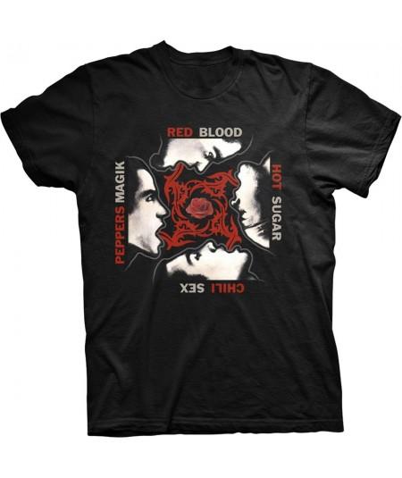Tricou Unisex Red Hot Chili Peppers: Blood/Sugar/Sex/Magic