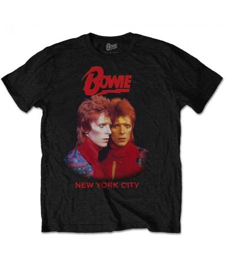 Tricou Unisex David Bowie: New York City
