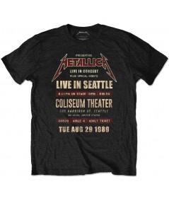Tricou Eco Unisex Metallica: Seattle '89