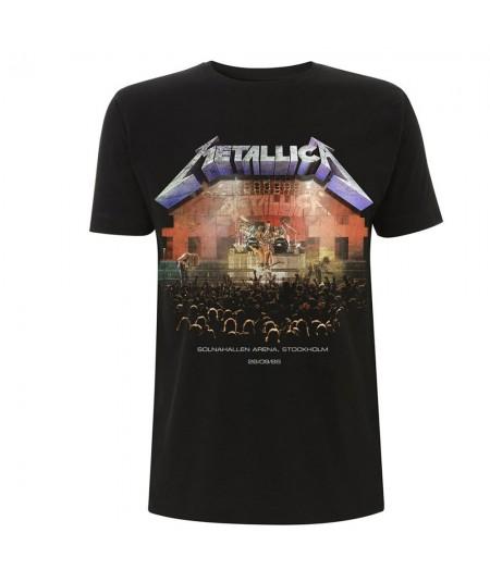 Tricou Unisex Metallica: Stockholm '86