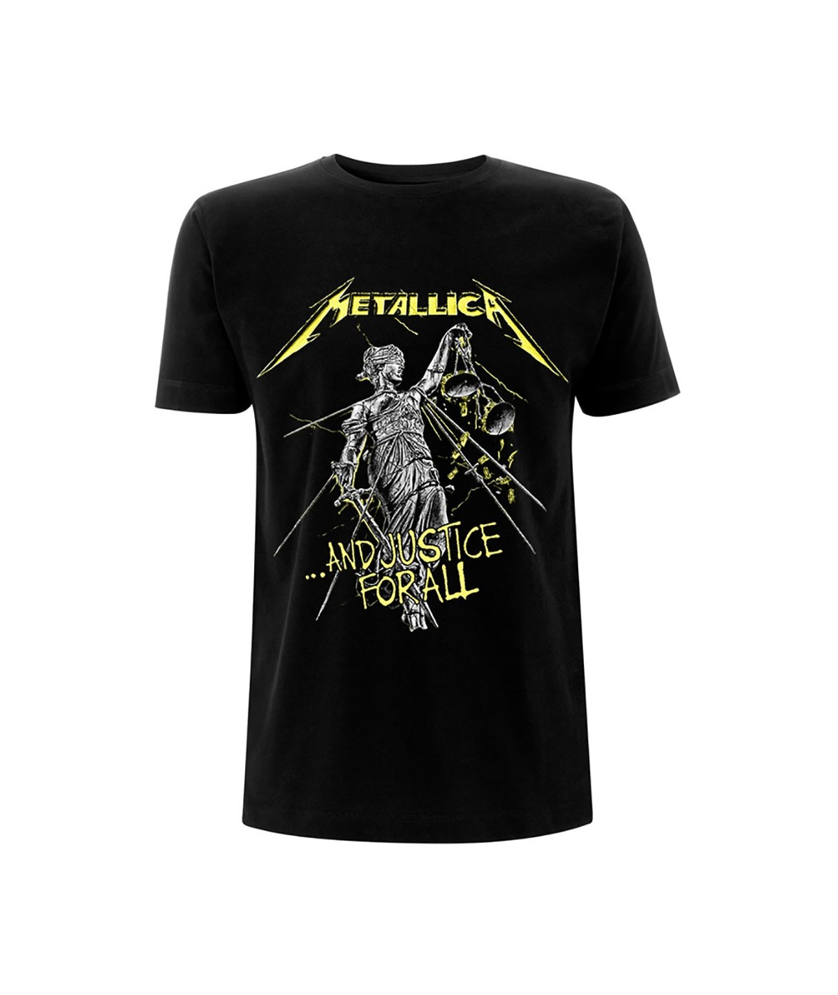 Tricou Unisex Metallica: And Justice For All Tracks