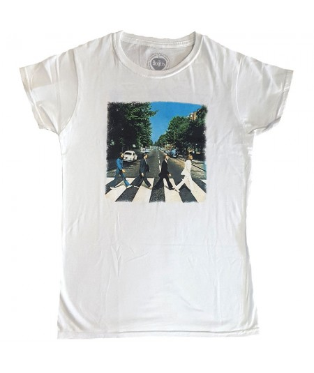 Tricou Dama The Beatles: Abbey Road