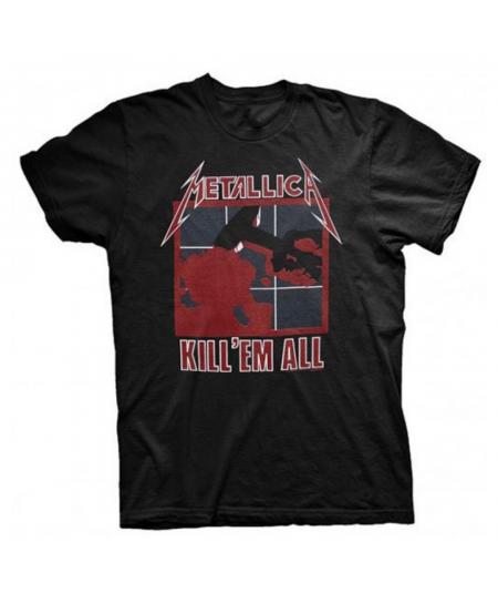 Tricou Unisex Metallica: Kill 'Em All