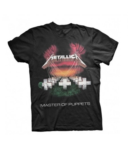 Tricou Unisex Metallica: Master Of Puppets European Tour '86