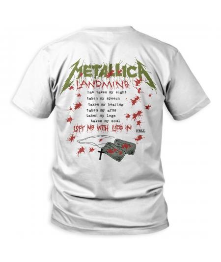 Tricou Unisex Metallica: One Landmine