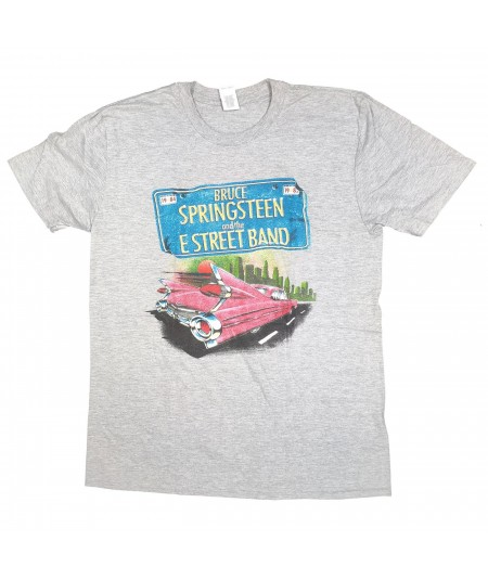 Tricou Unisex Bruce Springsteen: Pink Cadillac