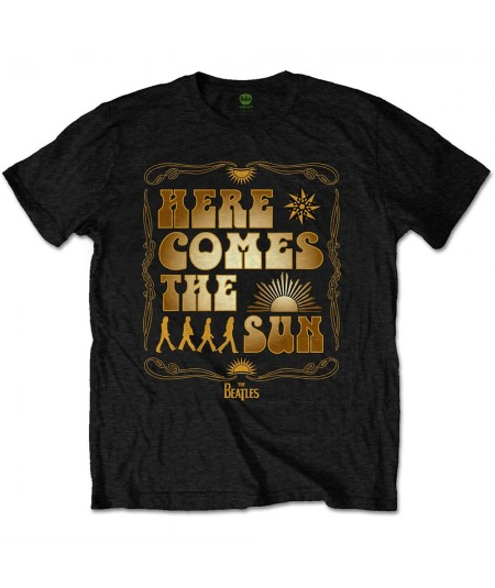 Tricou Unisex The Beatles: Here Comes The Sun