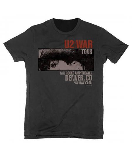 Tricou Unisex U2: War Red Rocks