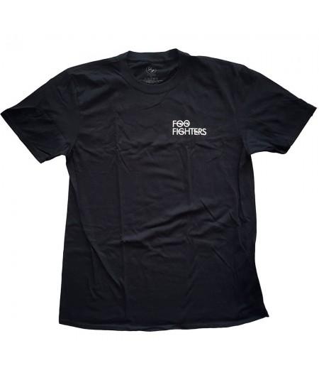 Tricou Unisex Foo Fighters: Flash Logo