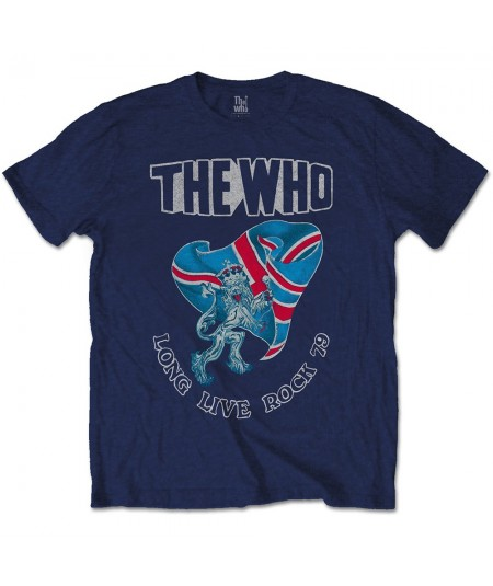 Tricou Unisex The Who: Long Live Rock '79