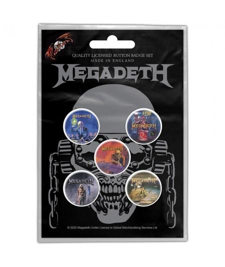 Insigne Megadeth: Vic Rattlehead