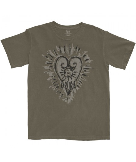 Tricou Unisex Gojira: Fortitude Heart