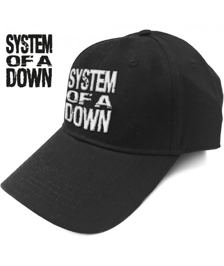 Sapca System Of A Down: Stacked Logo