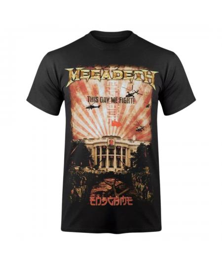 Tricou Unisex Megadeth: China Whitehouse