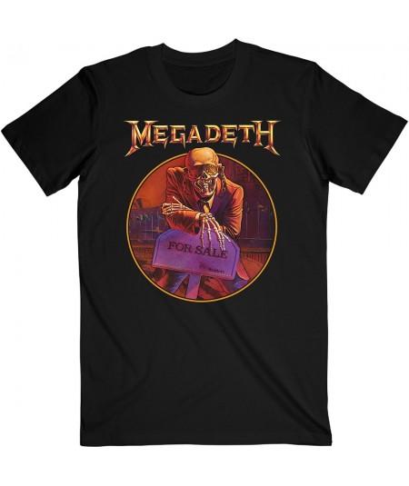 Tricou Unisex Megadeth: Peace Sells ... Track List